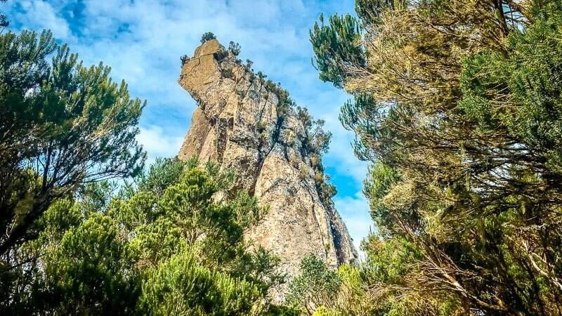 Teneriffa Sehenswürdigkeiten Anaga Gebirge Chinobre Runde Wandern