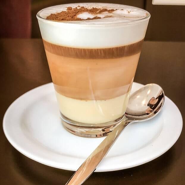 Teneriffa Barraquito Kaffee