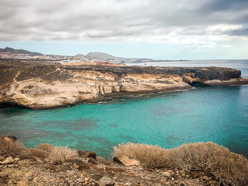 Teneriffa Sehenswürdigkeiten La Caleta Strand Bucht Hippies