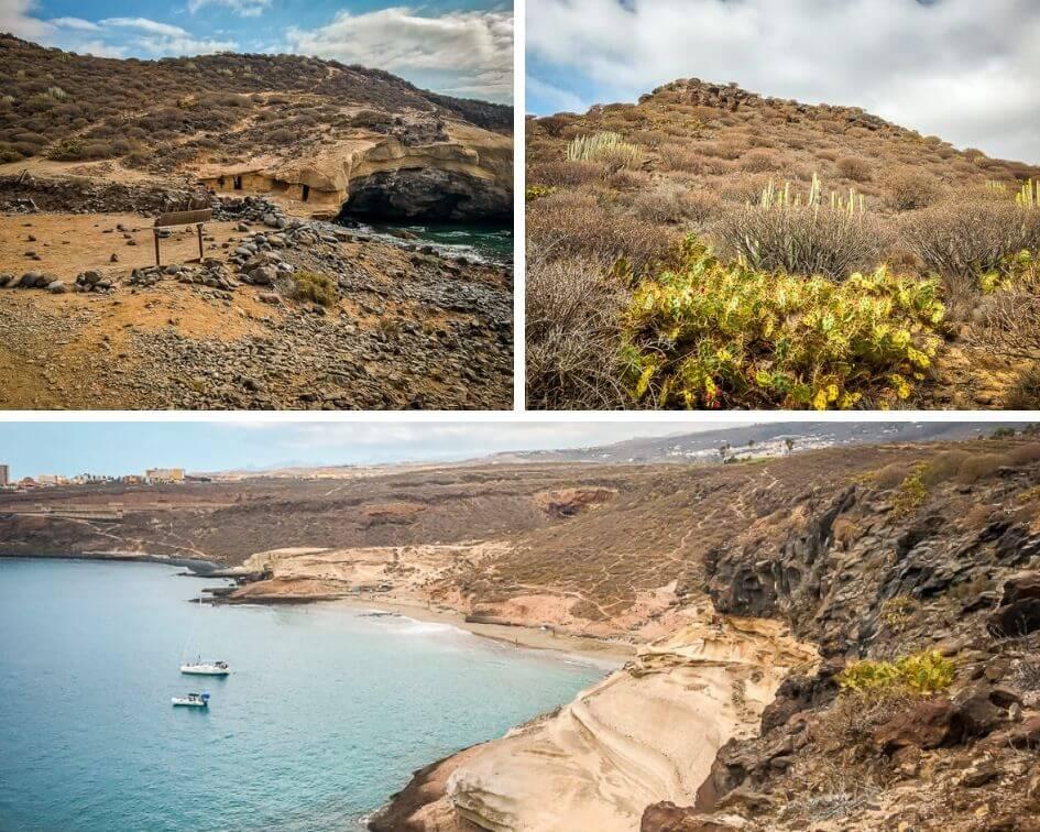 Teneriffa Sehenswürdigkeiten La Caleta Strand Buchten Hippies