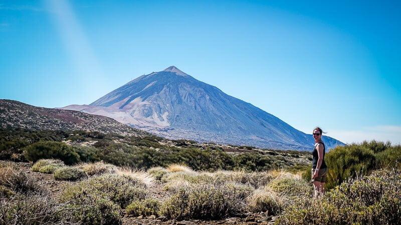 Teneriffa Sehenswürdigkeiten Teide Berg Teide National Park