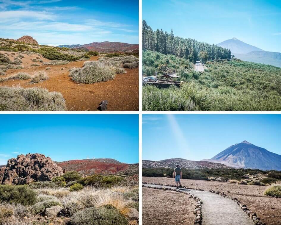 Teneriffa Sehenswürdigkeiten Teide National Park