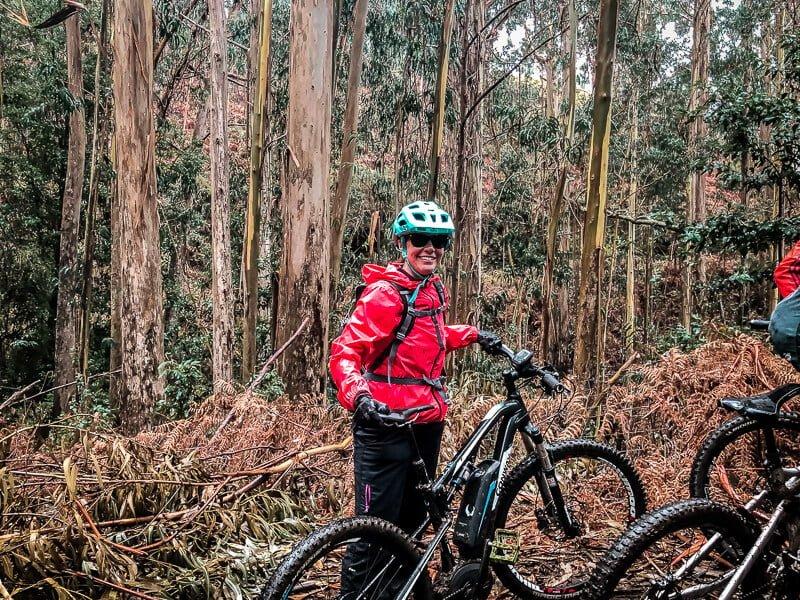 Portugal Madeira Eukalyptuswald Mountainbike Tour