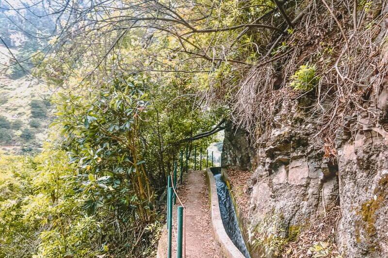 Portugal Madeira Levada Nova Trail Wandern