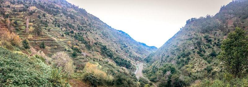 Portugal Madeira Fluss Ribeira da ponta do Sol Wandern