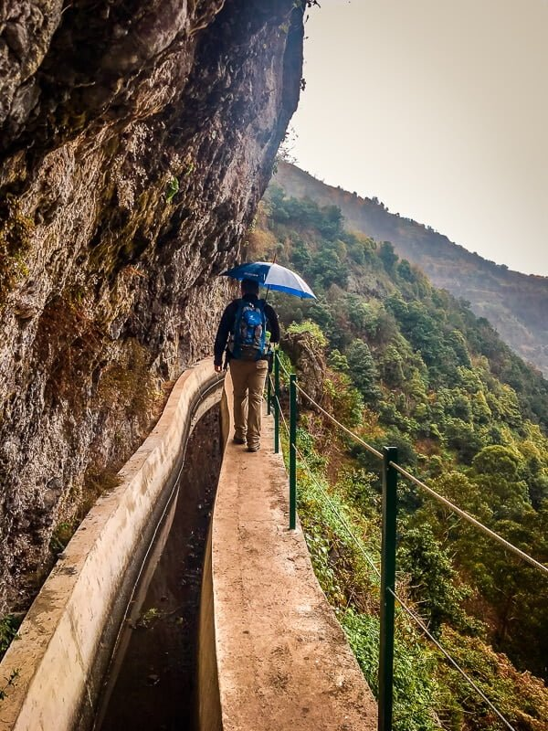 Portugal Madeira Levada do Moinho Wandern