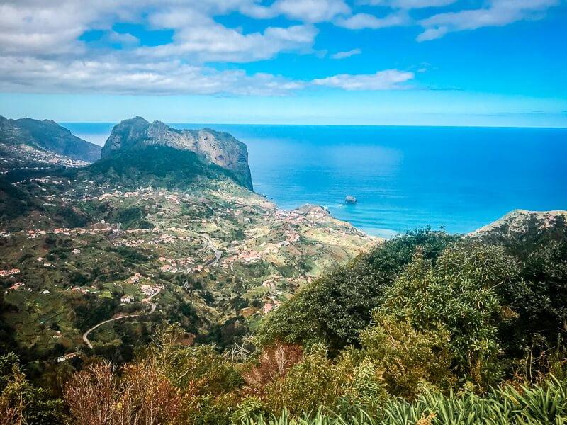 Portugal Madeira Miradouro da Portela