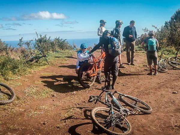 Portugal Madeira Portela Albano Aktiv Mountainbike Tour