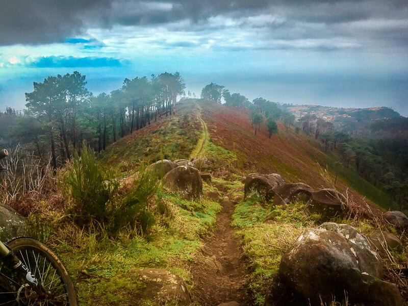 Portugal Madeira MTB Trails Red Line Mountainbike Enduro