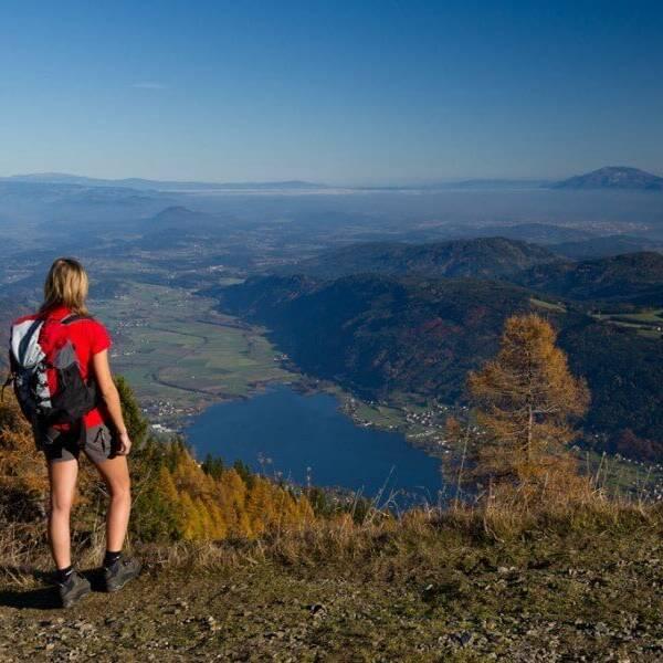Alpe Adria Trail Ausblick Tal