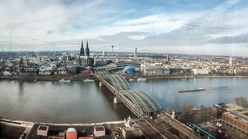 Köln Sehenswürdigkeit Panorama Köln Triangle
