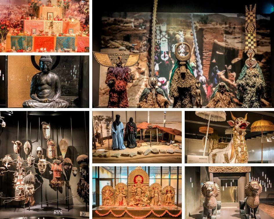 Köln Sehenswürdigkeiten Rautenstrauch Joest Museum Kulturen Eindrücke