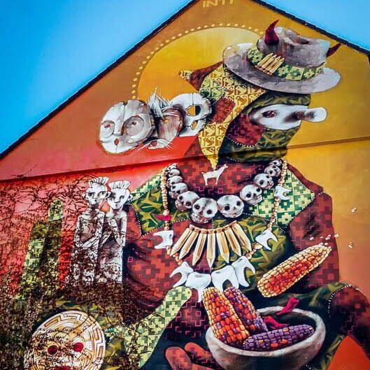 Köln Sehenswürdigkeiten Street Art Murals Künstler INTI