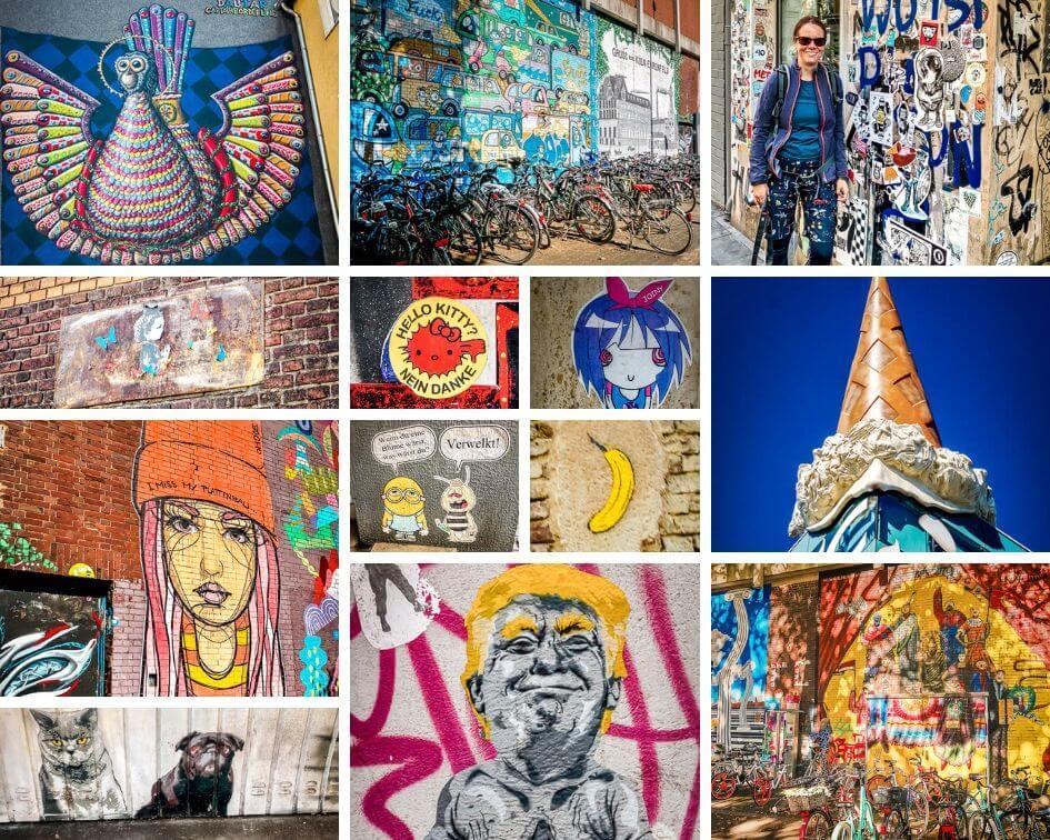 Köln Sehenswürdigkeiten Kunstwerk Street Art
