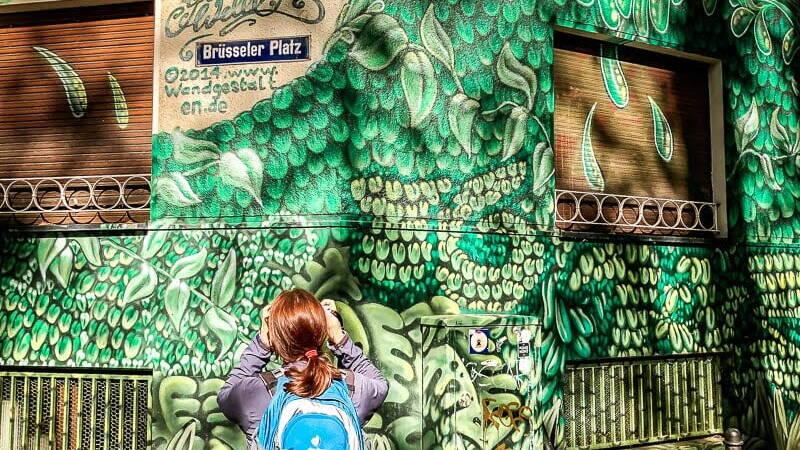 Köln Sehenswürdigkeiten Brüsseler Platz Belgisches Viertel Street Art