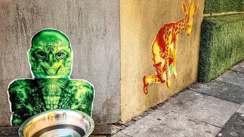 Köln Sehenswürdigkeiten Le Kiosk Belgisches Viertel Street Art