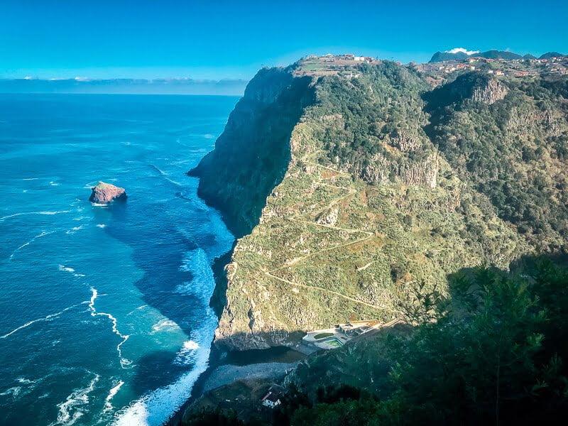 Portugal Madeira Sehenswürdigkeiten Café Cabo Aéreo Atlantik Stilküste