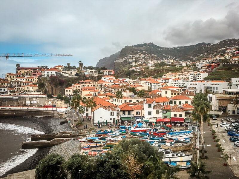 Portugal Madeira Sehenswürdigkeiten Camara de Lobos Fischehafen