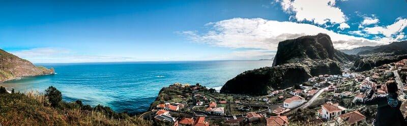 Portugal Madeira Sehenswürdigkeiten Faial Festung Adlerfelsen Mirador