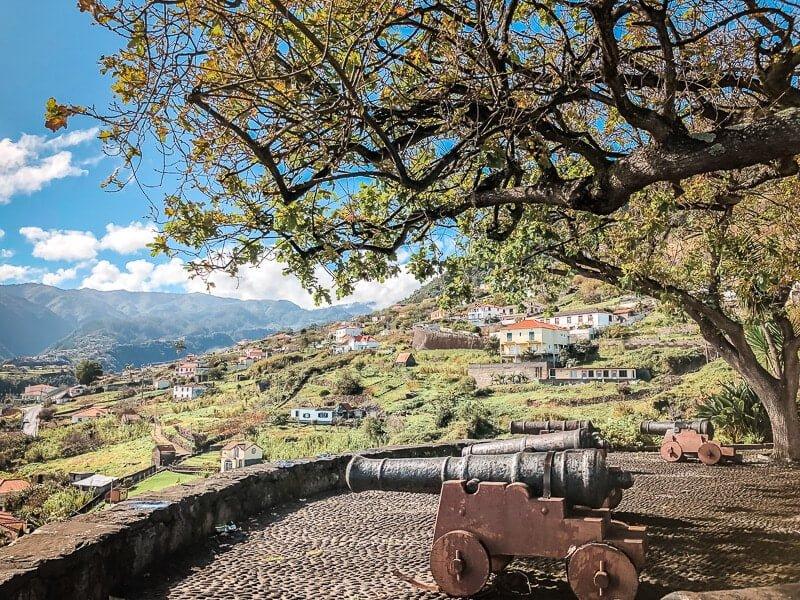 Portugal Madeira Faial Fortress of Faial Mirador