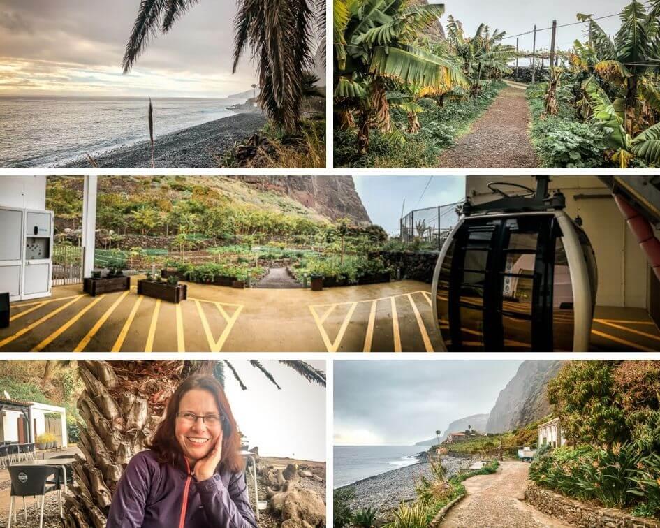 Madeira Sehenswürdigkeiten Faja dos Padres Seilbahn