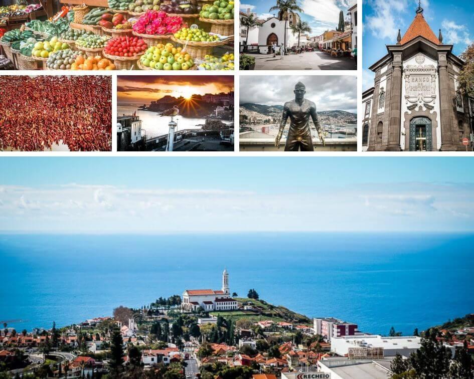 Portugal Madeira Sehenswürdigkeiten Funchal Impressionen