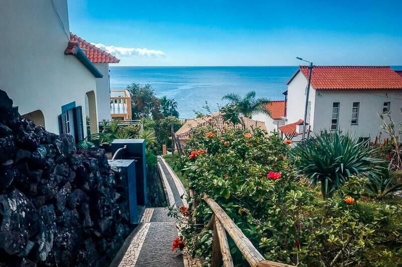 Portugal Madeira Sehenswürdigkeiten Jardim do Mar Gassen