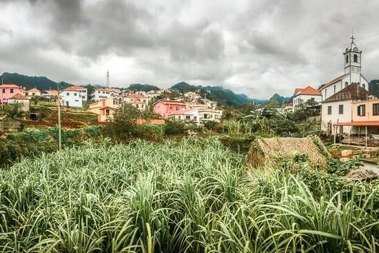 Portugal Madeira Sehenswürdigkeiten Jardim do Mar Stadt