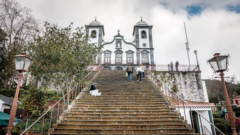 Portugal Madeira Sehenswürdigkeiten Nossa Senhora do Monte