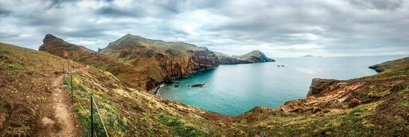 Portugal Madeira Sehenswürdigkeiten Ponta de Sao Lourenco Wanderung Wandern