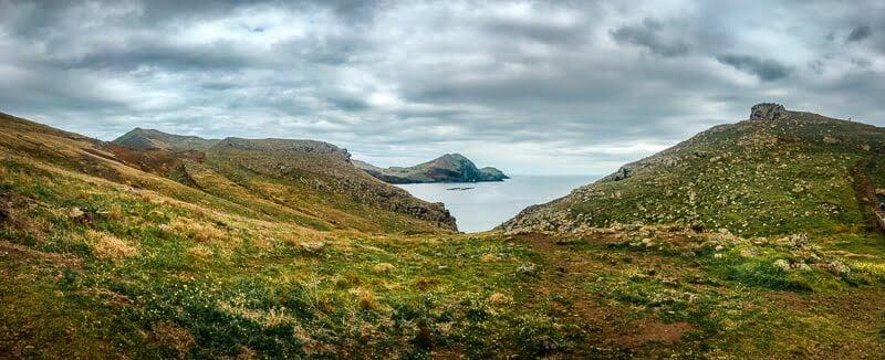 Portugal Madeira Sehenswürdigkeiten Ponta de Sao Lourenco Natur Meer Wandern