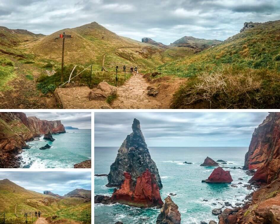 Portugal Madeira Sehenswürdigkeiten Ponta de Sao Lourenco Wandern