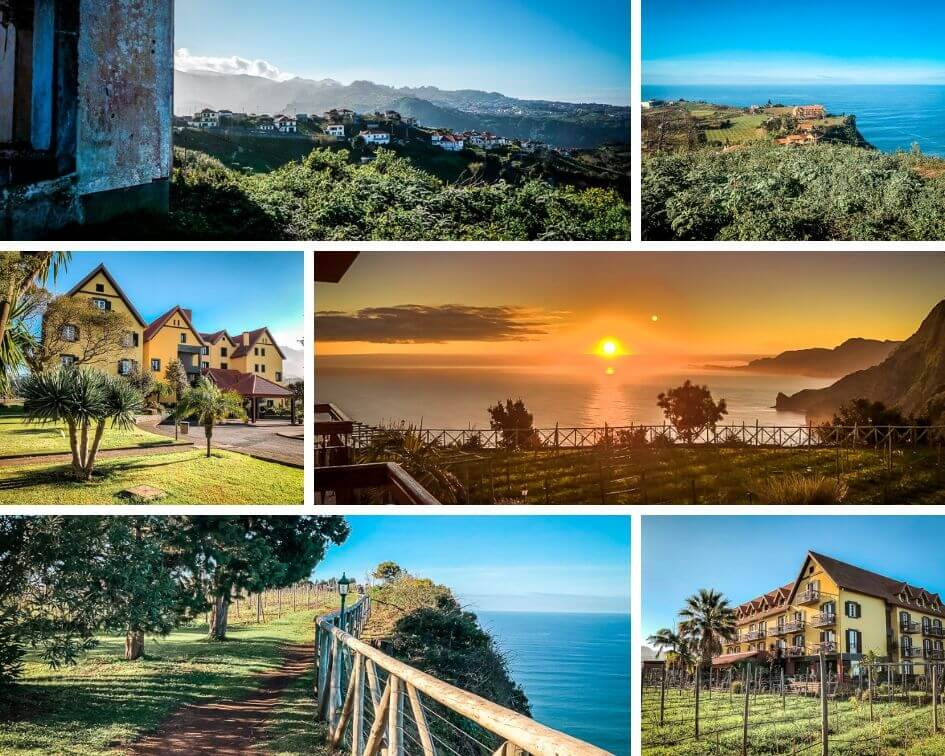 Portugal Madeira Sehenswürdigkeiten Quinta do Furao Santana
