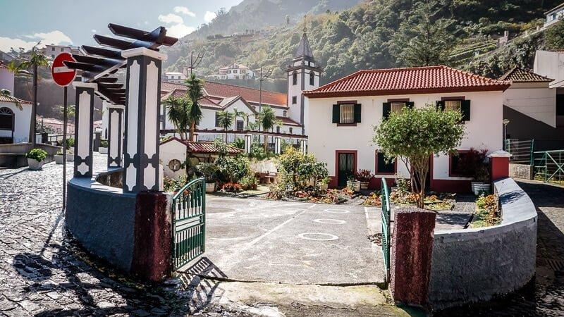 Madeira Sehenswürdigkeiten Sao Vicente Impressionen