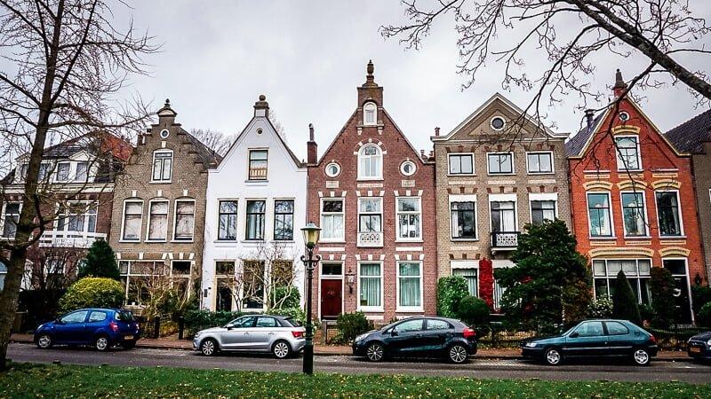 Holland Alkmaar Häuserfassaden Nordholland Altstadt