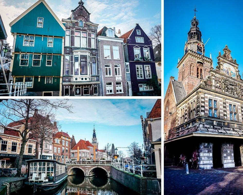 Holland Alkmaar Altstadt Grachten