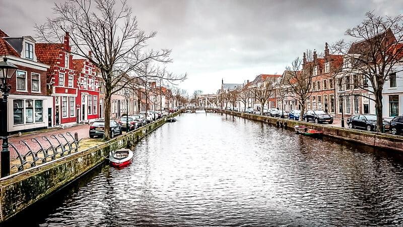 Holländische Grachten Holland Alkmaar