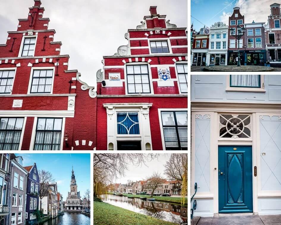 Holland Alkmaar Gebäude Altstadt Nordholland