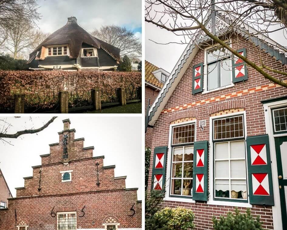 Holland Bergen aan Zee Häuser