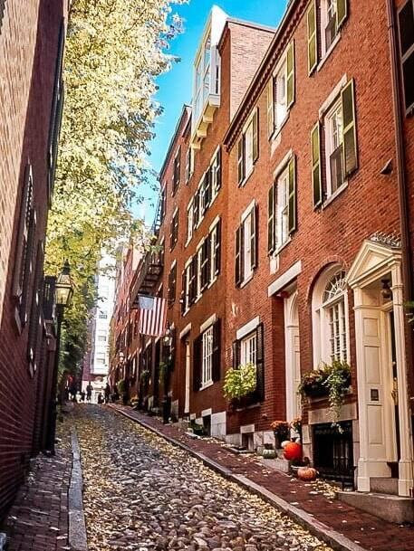 Boston USA Acorn Street Beacon Hill
