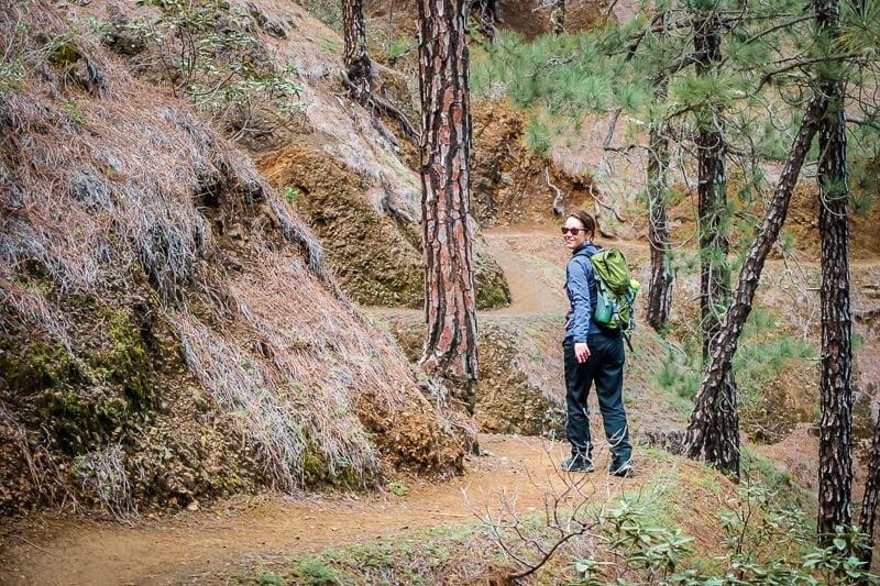 Sabrina Bechtold Couchflucht - Wandern Outdoorblog Wanderung alleine wandern La Palma