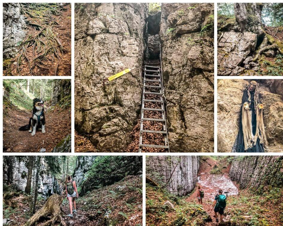 Wilder Kaiser Wandern Koasa Trail Etappe 3 Teufelsgasse Impressionen
