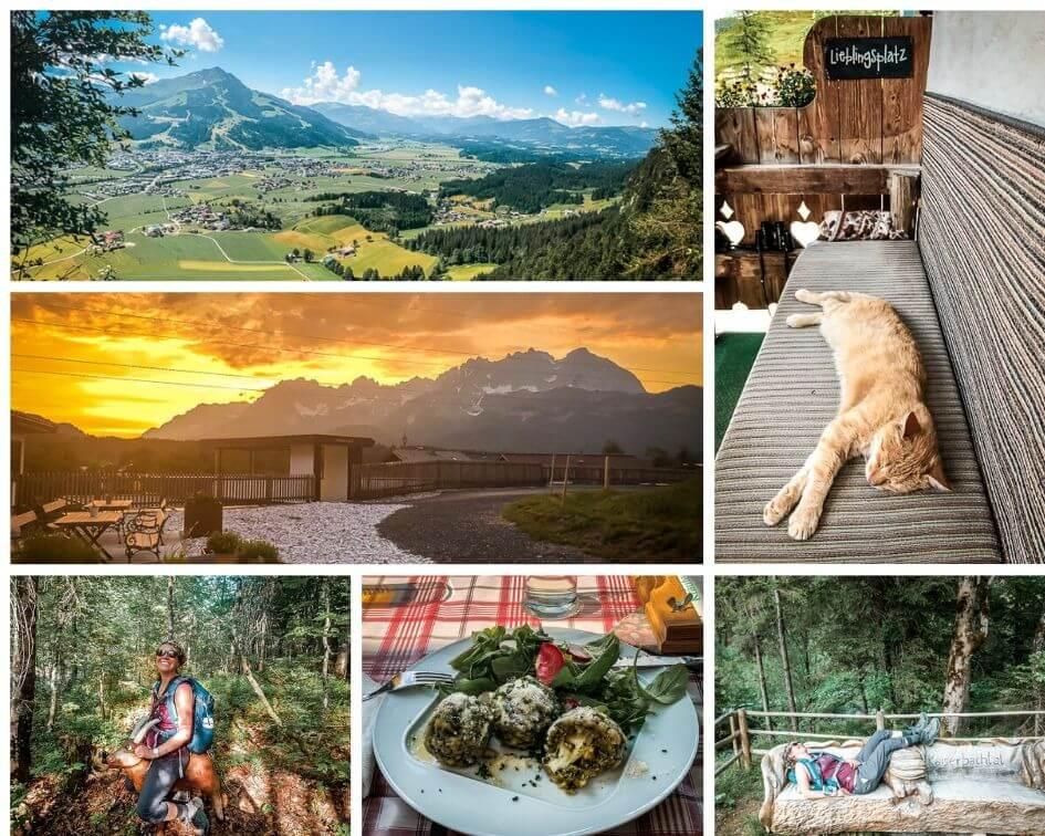 Wilder Kaiser Koasa Trail Wandern Etappe 1 Impressionen