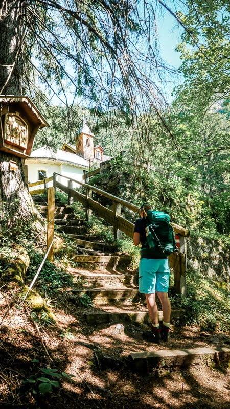 Wilder Kaiser Koasa Trail Wandern Etappe 1 Einsiedelei Maria Blut