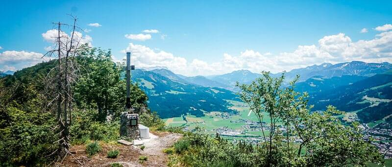 Wilder Kaiser Koasa Trail Wandern Etappe 1 Aussichtspunkt Ursulablick