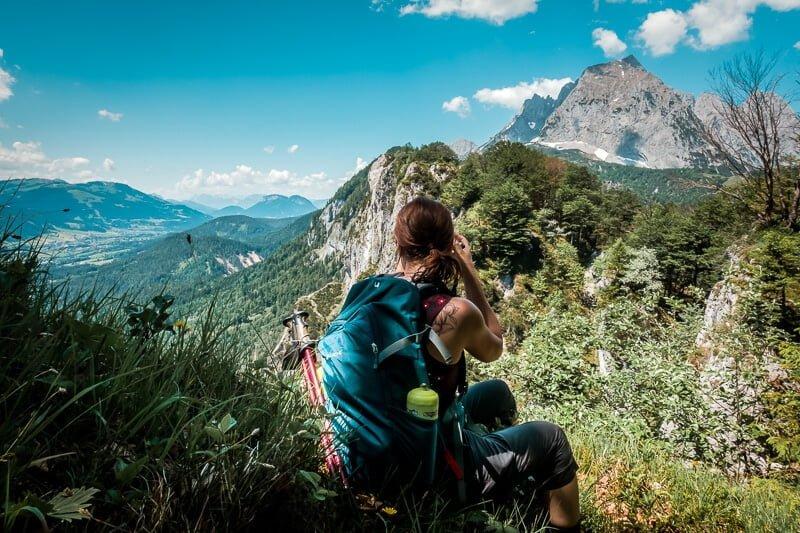 Wilder Kaiser Koasa Trail Wandern Etappe 1 Schatterkopf