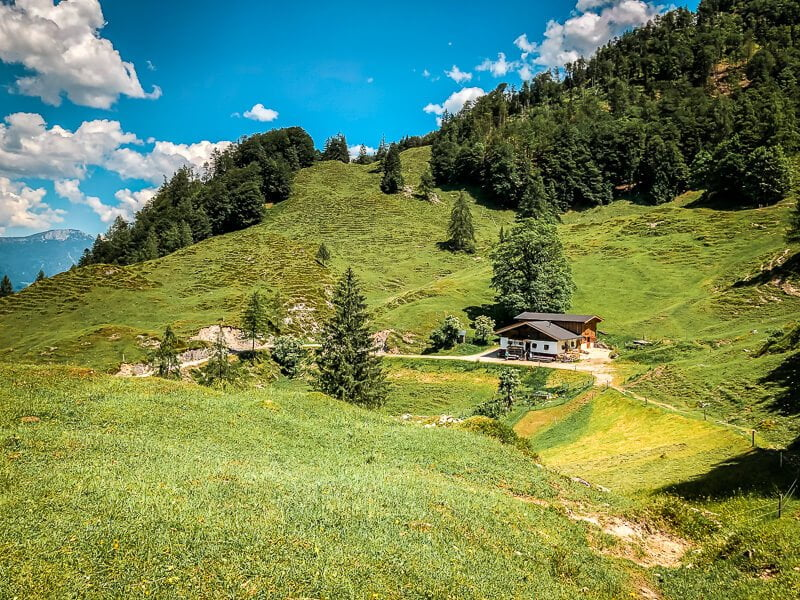 Wilder Kaiser Koasa Trail Wandern Etappe 1 Bacheralm