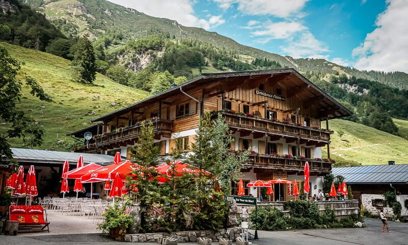 Wilder Kaiser Koasa Trail Wandern Etappe 1 Griesner Alm Kaiserbachtal