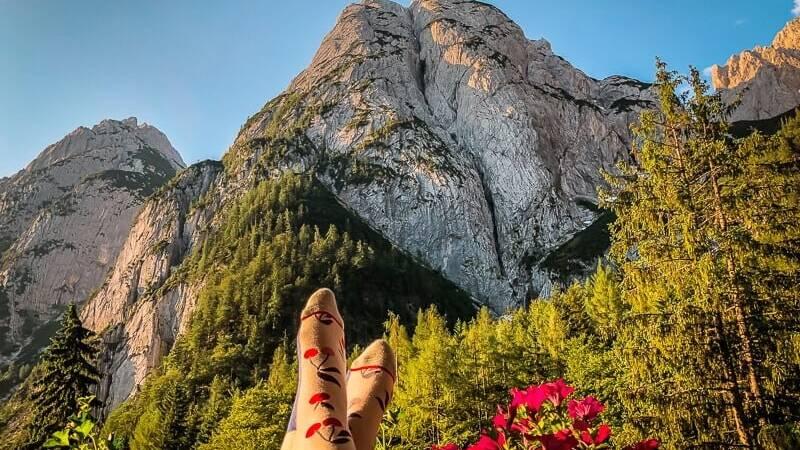 Wilder Kaiser Koasa Trail Wandern Etappe 2 Balkon Aussicht Griesner Alm
