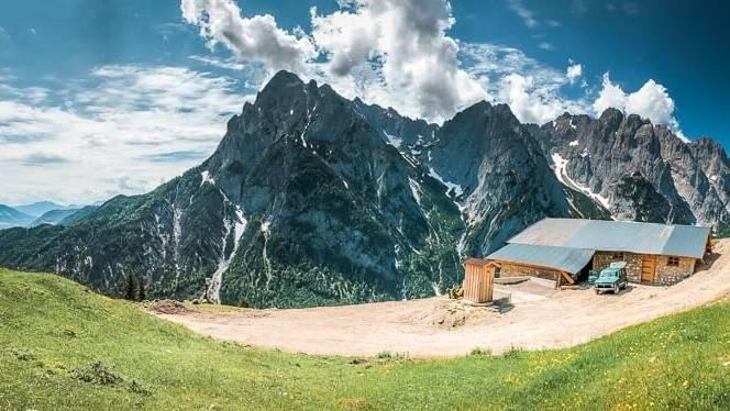 Wilder Kaiser Koasa Trail Wandern Etappe 2 Vordere Ranggenalm Kaisermassiv
